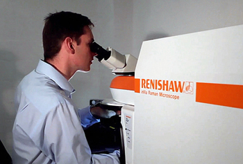 Renishaw's Queen's Award-winning inVia Raman microscope.