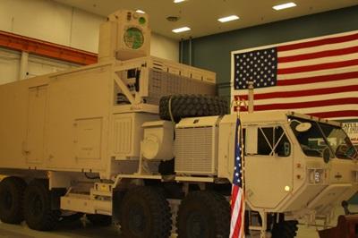 Laser demonstrator truck