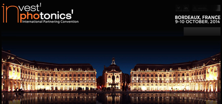 Invest in Photonics 2014 returns to Bordeaux's grand Place de la Bourse.