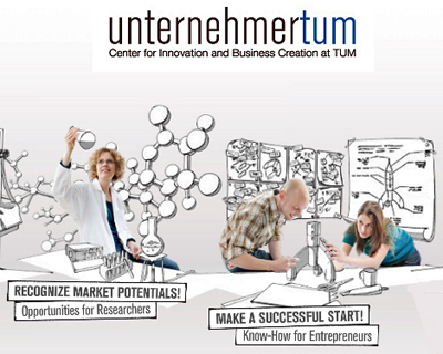 Unternehmer-TUM is taking action to stimulate new business.