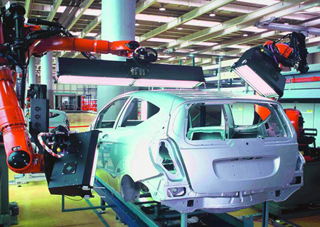 Smart cars: Inspection of surface errors on bodywork can be fully automated.