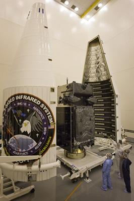 SBIRS satellites: GEO-1 prior to launch