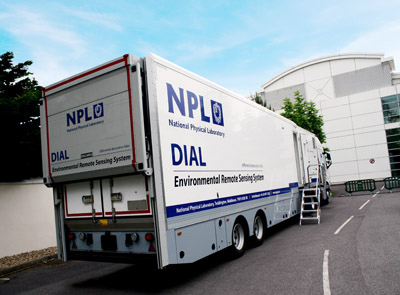 Dial up: NPL's Differential Absorption Lidar facility.