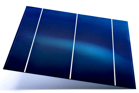 21.5% is the highest efficiency achieved for this type of solar cell.