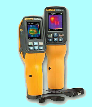 Fluke's VT04 and VT02 Visual IR thermometers.