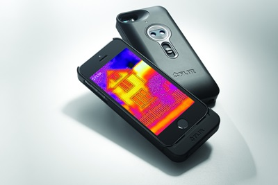 iPhone snap-on: the FLIR ONE accessory