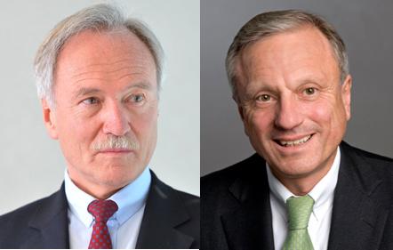 Light switch: Joachim Faber (l) and Werner Brandt.