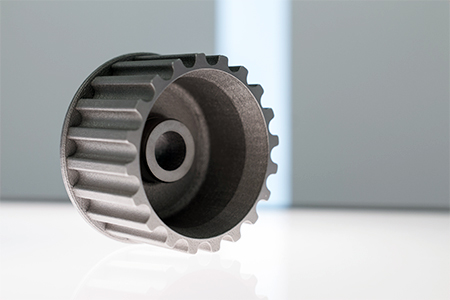 Additive Manufacturing was a perfect match for developing the gearing.