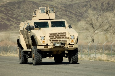 Humvee: ready for a laser upgrade