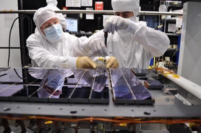 Gaia's CCD sensor