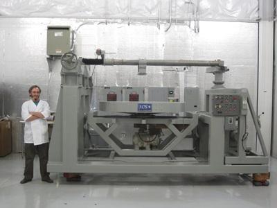 AOS' draper machine