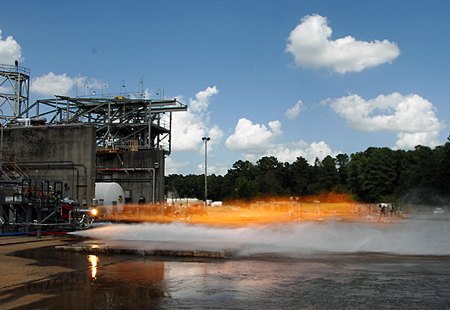 NASA engineers have completed testing with two 3-D printed rocket injectors.