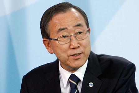 Video message: UN Secretary-General Ban Ki-moon.