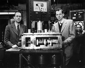 Townes, James Gordon and the ammonia maser