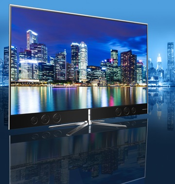 TCL's QD-enhanced 55-inch TV