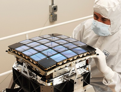 Kepler's CCD array