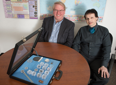 Diamond dealers: Timothy Grotjohn and Thomas Schuelke.