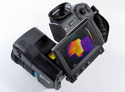 Flir's T1020 thermal camera, for industrial diagnostics, was launched in October 2015.