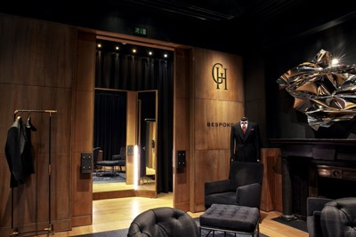 Bespoke lighting for bespoke suits