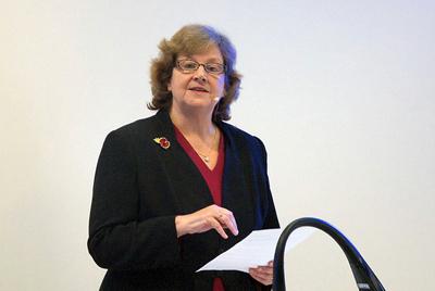 Prof. Dame Ann Dowling.