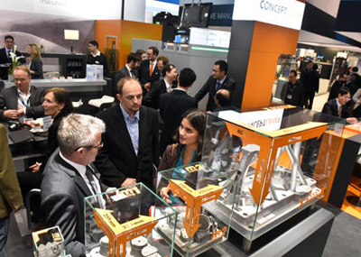 At Formnext, Concept Laser presented its smart and robust production approach.