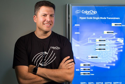Colorchip CEO Yigal Ezra: