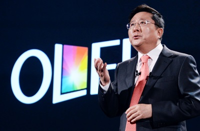 LG Display CEO Sang Beom Han