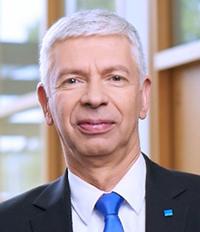 Laser division managing director Wolfgang Keller.