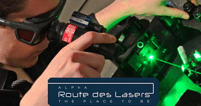 Renewed interest: Route des Lasers.