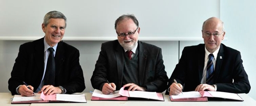 Done deal: Thales and École Polytechnique sign off their collaboration