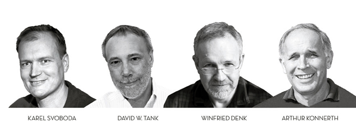 Brainboxes: inventors of two-photon microscopy and winners of the 2015 Brain Prize.
