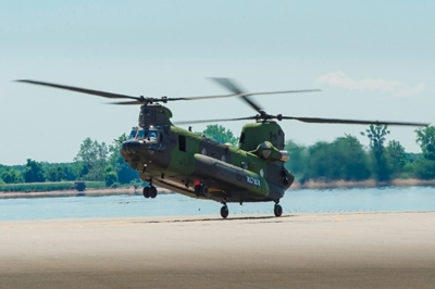 Laser-protected: Canada's new Chinooks
