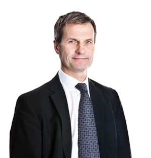 Transmode CEO Karl Thedéen