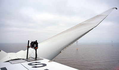 The 270MW Lincolnshire Offshore wind farm - now with ZephIR lidar.