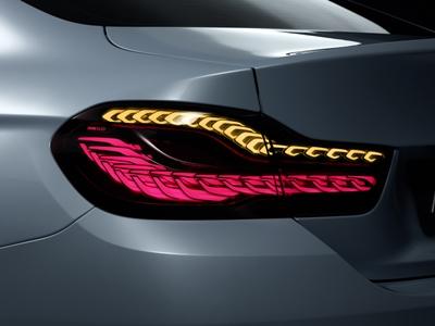 BMW concept car's OLED rear lights