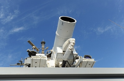 USS Ponce's laser weapon
