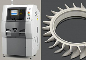 Laser additive manufacturing specified for aerospace components.