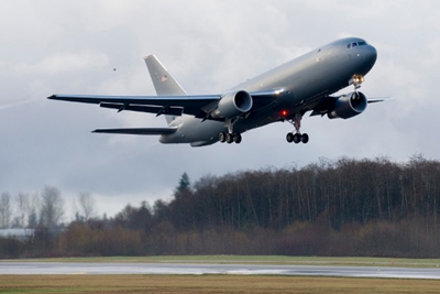 New KC-46A Boeing tankers