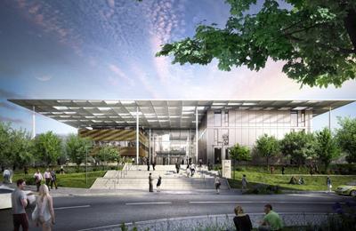 Design of Prague's forthcoming ELI Beamlines Centre.
