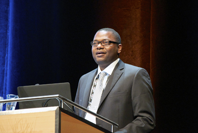Africa champion: Dr Yanne Chembo of CNRS and the African Physical Society