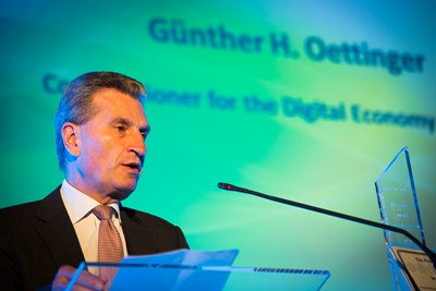 European Commissioner Günther Oettinger