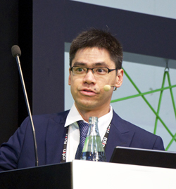 Dr Robin Huang, VP at Teradiode.