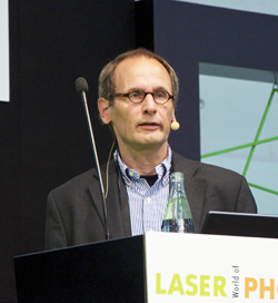 Dr Holger Moench of Philips Photonics.