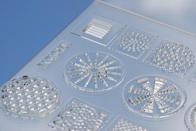 LUXeXceL 3D-printed optics