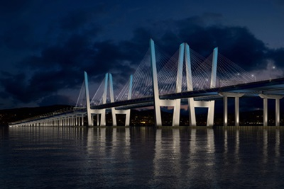 New NY Bridge: illuminated by Philips