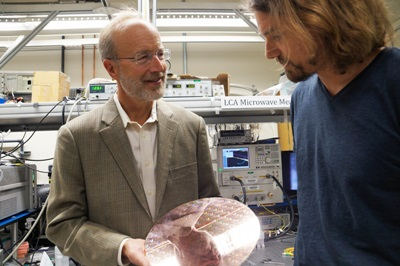 Lasers on silicon: UCSB's John Bowers