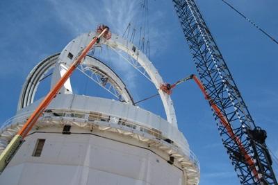 DKIST: under construction