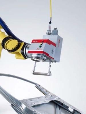 Remote welding head