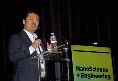 Professor Keisuke Goda gave the plenary on ultrafast/slow imaging.