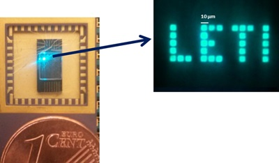 Micro-LED array